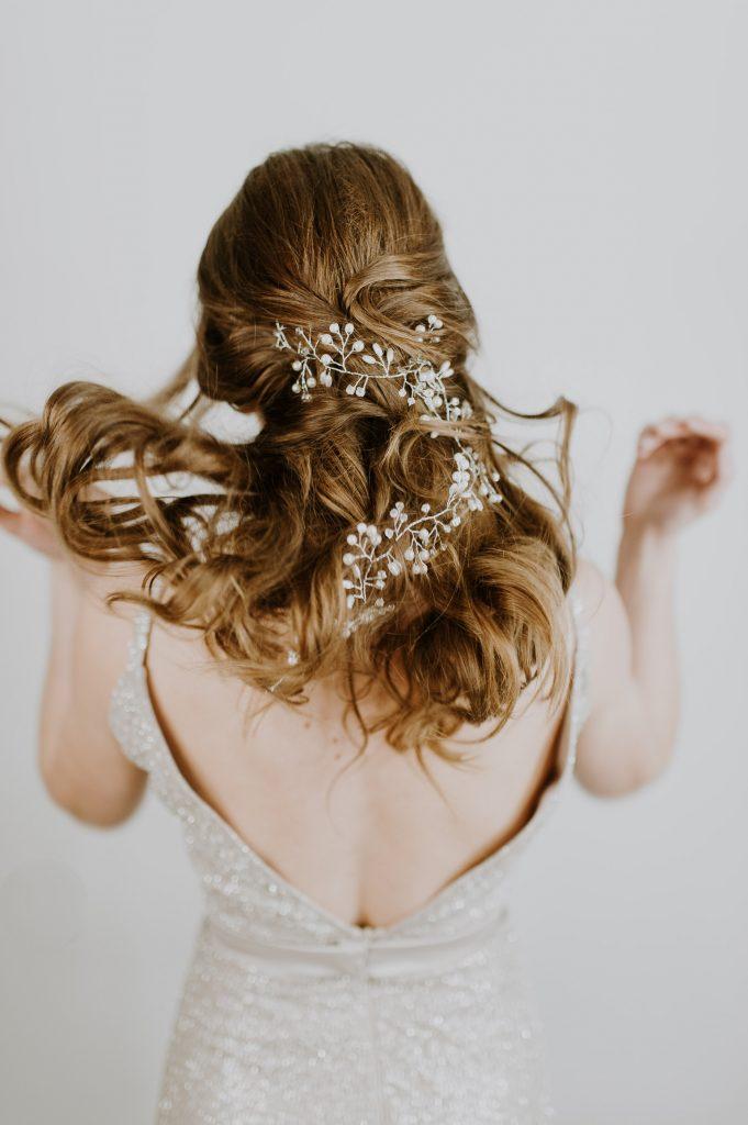 pas de taxe de vente gamme complète d'articles regard détaillé Les accessoires cheveux pour un mariage bohème - La Mariée ...